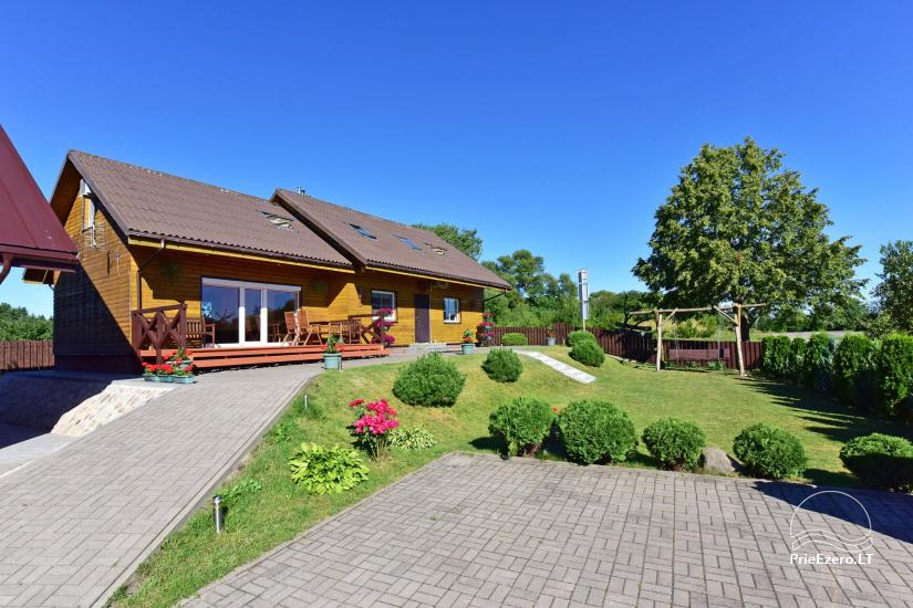 Guest house in Trakai PANORAMA – rooms, suites, sauna, yard with a view to Trakai castle - 4