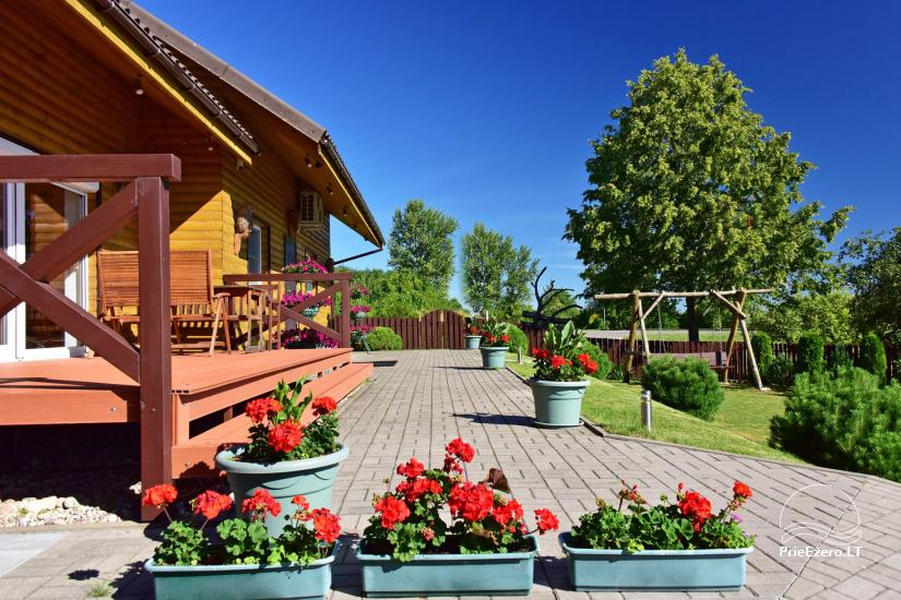 Guest house in Trakai PANORAMA – rooms, suites, sauna, yard with a view to Trakai castle - 5