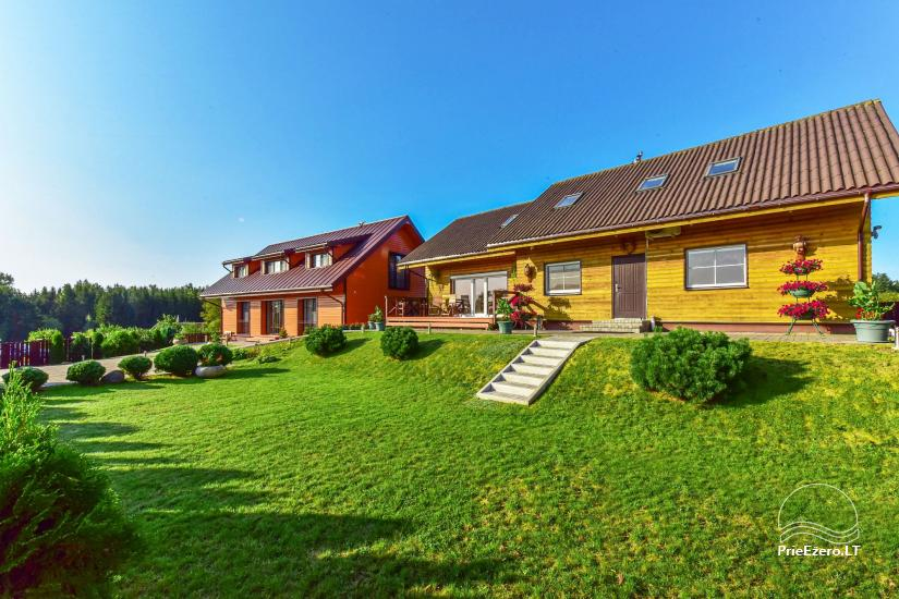 Guest house in Trakai PANORAMA – rooms, suites, sauna, yard with a view to Trakai castle - 15