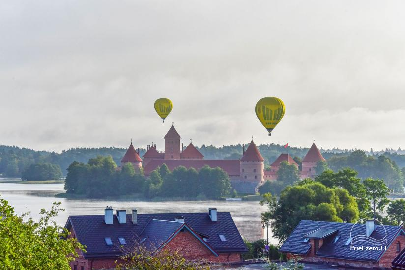 Guest house in Trakai PANORAMA – rooms, suites, sauna, yard with a view to Trakai castle - 13