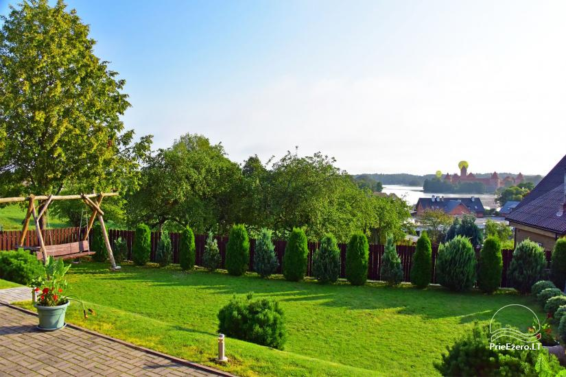 Guest house in Trakai PANORAMA – rooms, suites, sauna, yard with a view to Trakai castle - 8