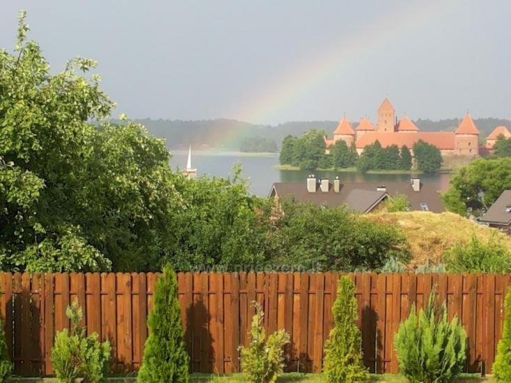 Guest house in Trakai PANORAMA – rooms, suites, sauna, yard with a view to Trakai castle - 21
