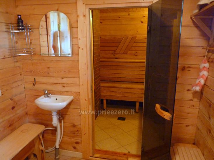 Land-Tourismus-Gehöft in der Nähe des Sees in Moletai Region, in Litauen - 9