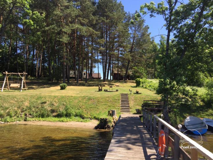 Усадьба в сельской местности недалеко от озера в регионе Молетай, в Литве - 3