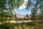 Countryside homestead Meira by the lake in Ignalina region, Lithuania