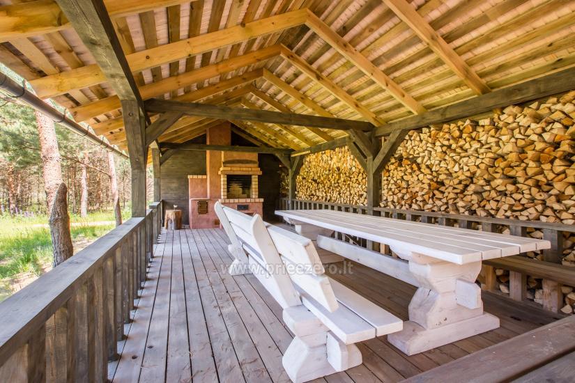 Сельская усадьба «Мейра» у озера в Игналинской области, Литва - 7