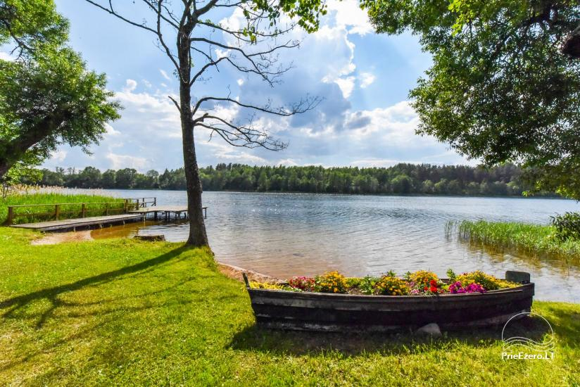 Countryside homestead by the lake in Ignalina region, in Lithuania - 6