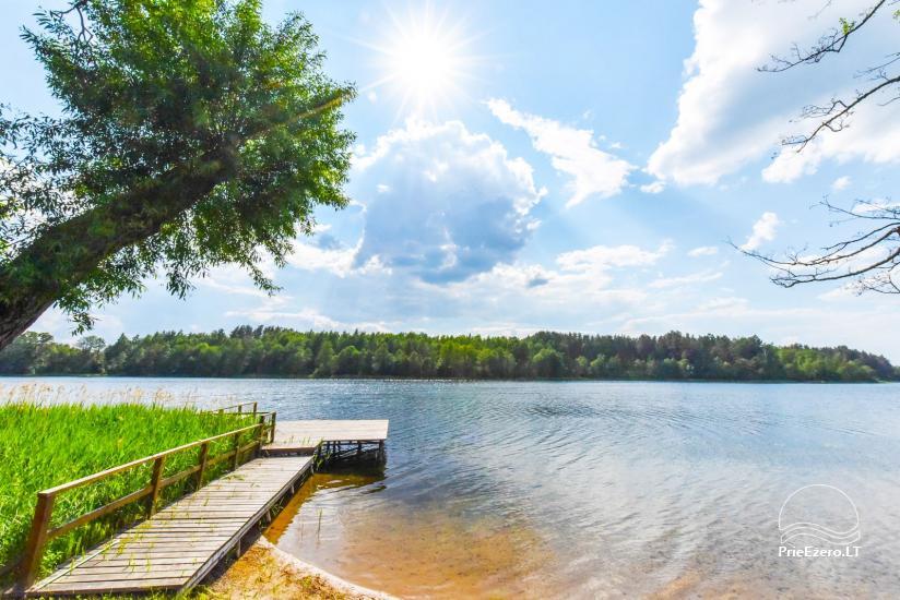 Landgut am See in Ignalina, in Litauen - 8