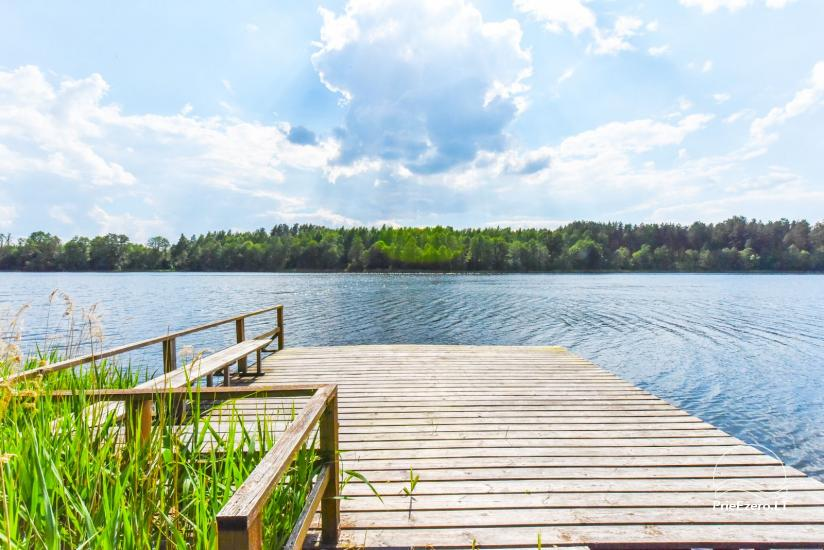 Countryside homestead by the lake in Ignalina region, in Lithuania - 9