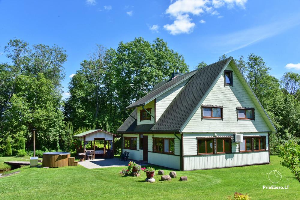 Holiday cottage in a homestead in Vepriai, Ukmerge district - 1