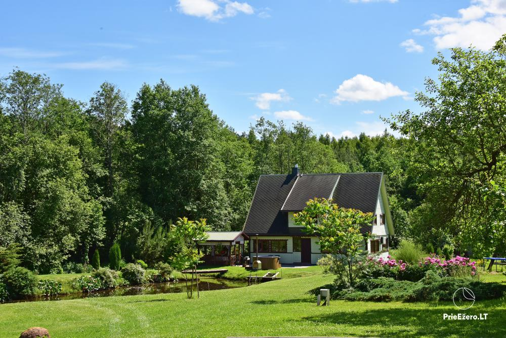 Holiday cottage in a homestead in Vepriai, Ukmerge district - 3