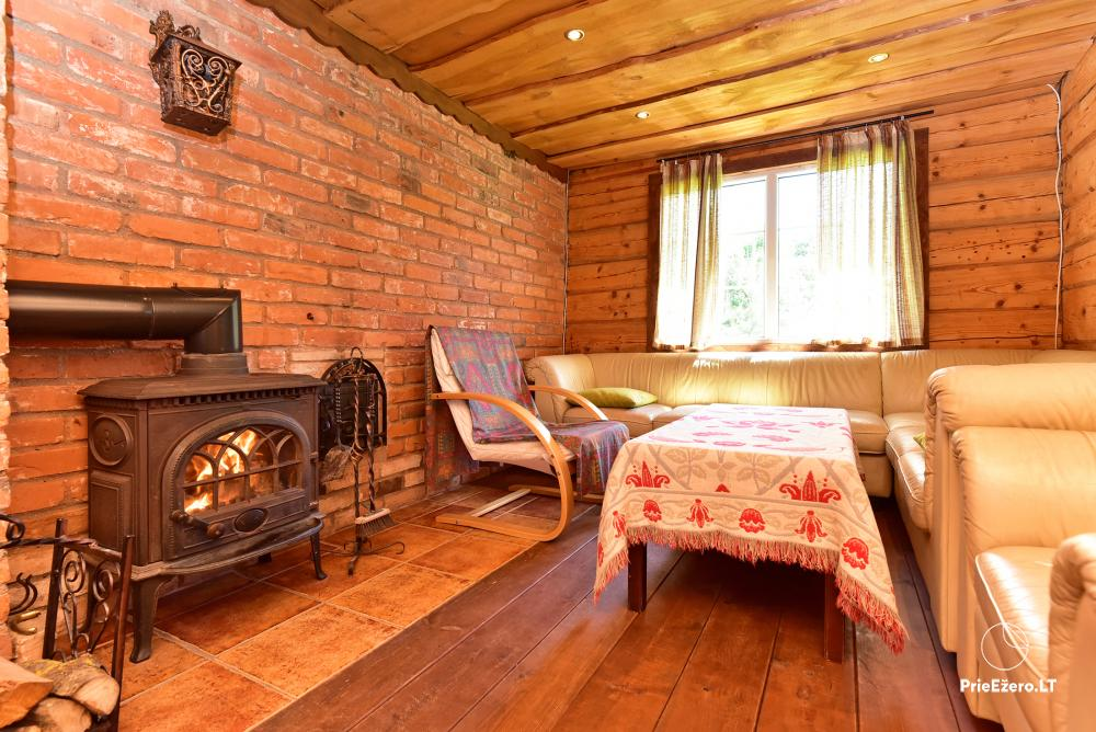 Holiday cottage in a homestead in Vepriai, Ukmerge district - 10