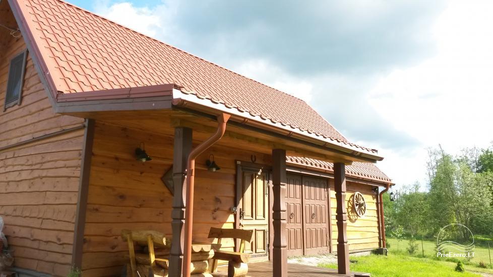 Домик для спокойного отдыха на берегу озера в Молетай, Литва - 3