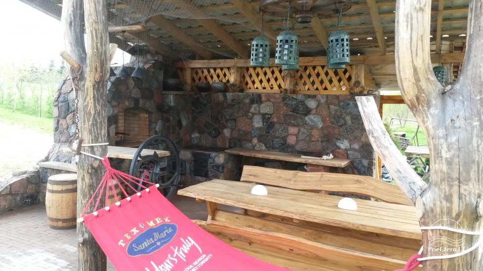 Домик для спокойного отдыха на берегу озера в Молетай, Литва - 8