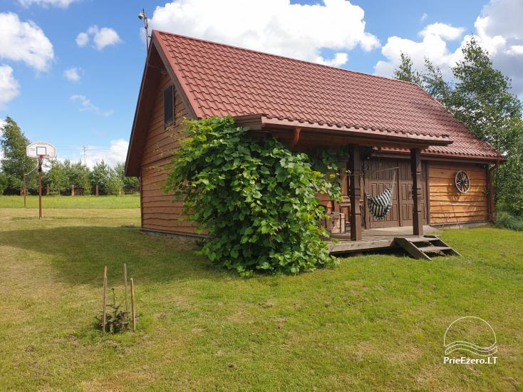 Holiday cottage for a calm rest on the lake shore in Moletai, Lithuania - 2