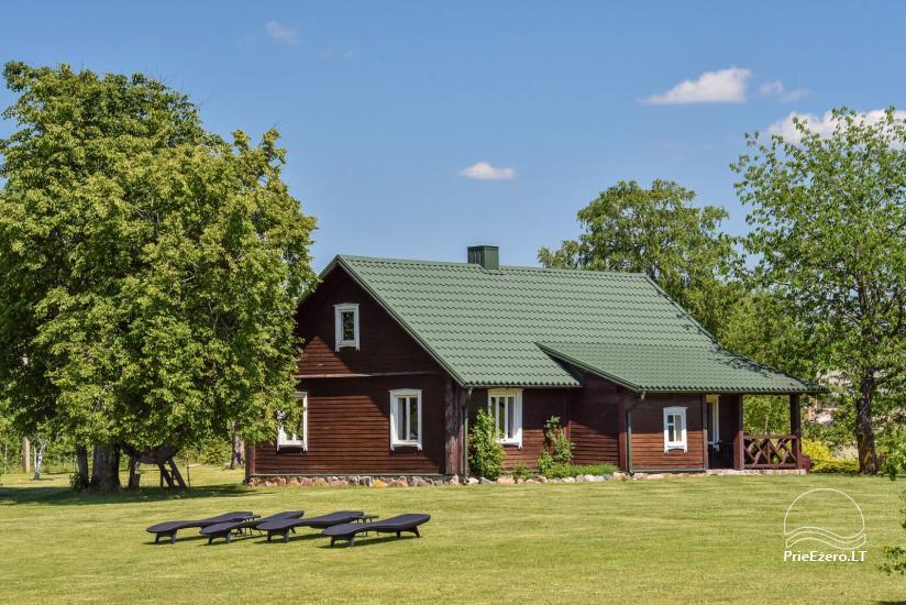 Ferienhutten im Gehöft Puodziu kaimas im Bezirk Utena, Litauen - 53