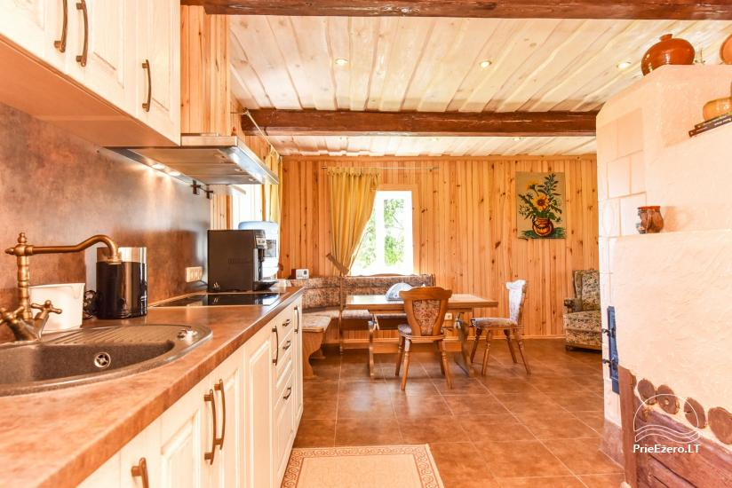 Holiday cottages in a homestead Puodziu kaimas in Utena district, Lithuania - 62