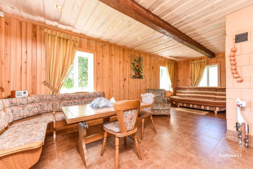 Domki w gospodarstwie Puodziu kaimas w Uciańskim rejonie na Litwie - 63