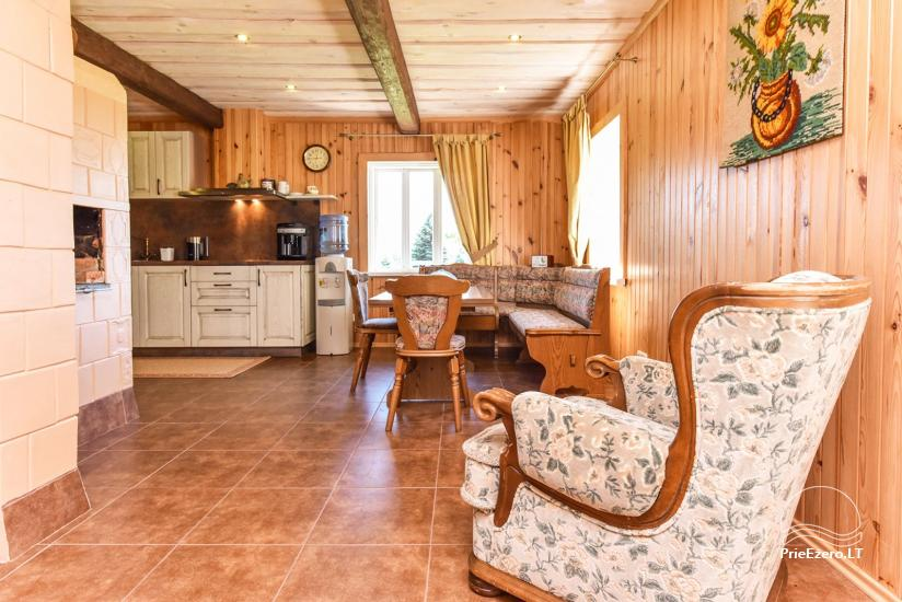 Holiday cottages in a homestead Puodziu kaimas in Utena district, Lithuania - 64