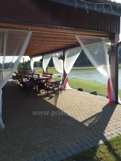 Modern, new homestead in the Prienai district  Kalnų pieva - 3