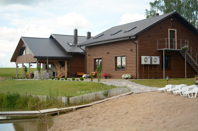 Modern, new homestead in the Prienai district   Kalnų pieva - 1
