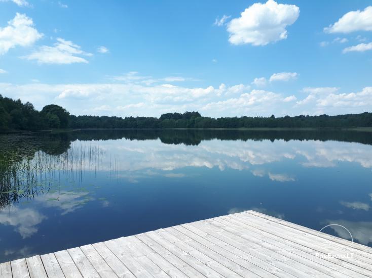 Homestead on the lake shore Pas Vytautą - 5