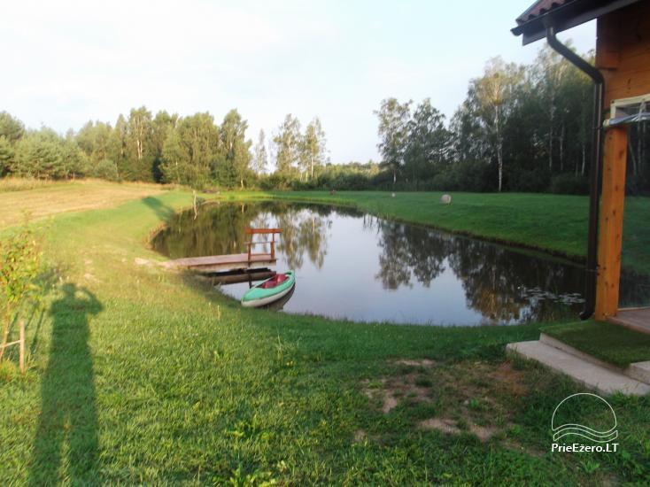 Сельская усадьба «Около пруда» в Литве - 3