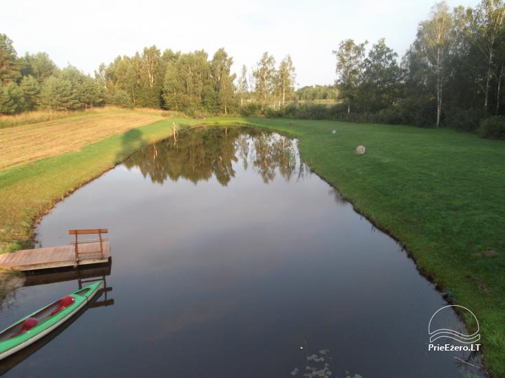 Сельская усадьба «Около пруда» в Литве - 2