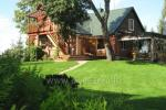 Holiday cottages, bathhouse, hot tub, kayaks in homestead at the lake Dviragis