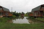 Holiday cottages, bathhouse, hot tub, kayaks in homestead at the lake Dviragis - 7
