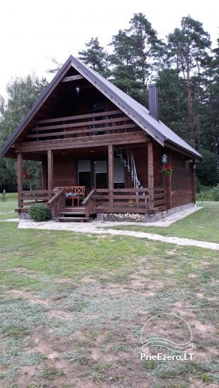 Gospodarstwo nad jeziorem w regionie Zarasai Dumblynė - 2