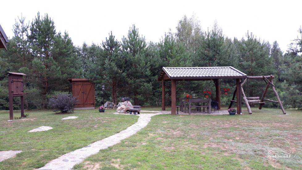 Gospodarstwo nad jeziorem w regionie Zarasai Dumblynė - 4