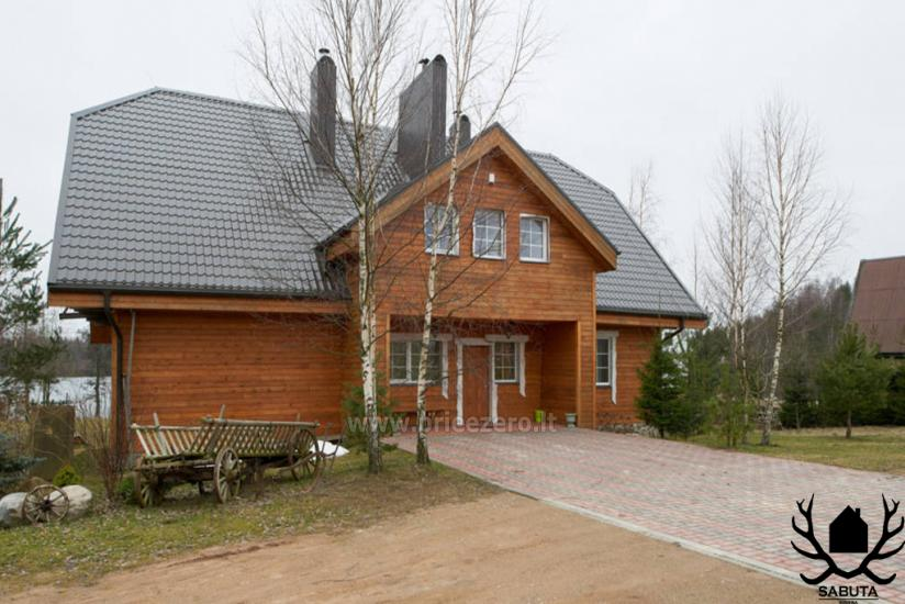 Усадьба Сабутос в Литве, недалеко от озера - 1
