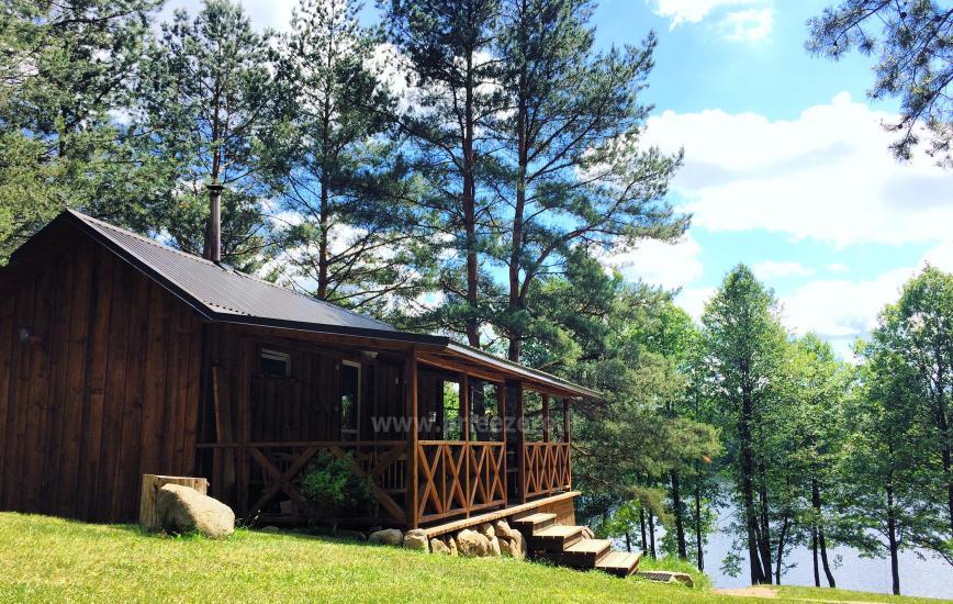Camping and sauna for rent near the lake Ilgis in Alytus region - 1