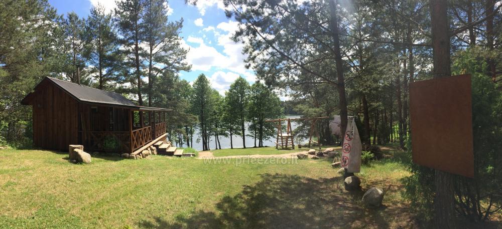 Camping und Sauna zu vermieten in der Nähe des Sees Ilgis - 2