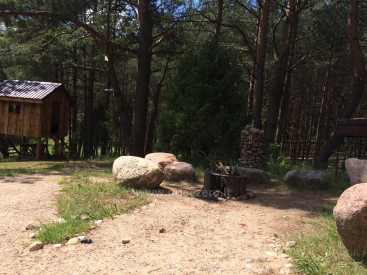 Camping and sauna for rent near the lake Ilgis in Alytus region - 11