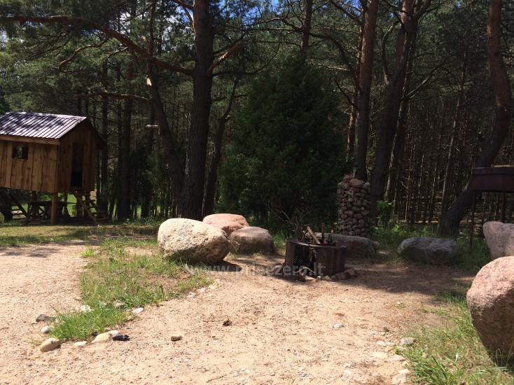 Camping und Sauna zu vermieten in der Nähe des Sees Ilgis - 11
