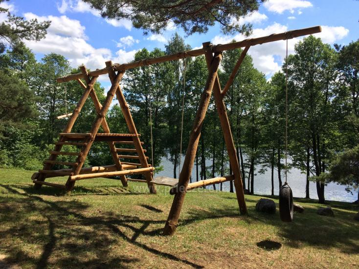 Camping and sauna for rent near the lake Ilgis in Alytus region - 3