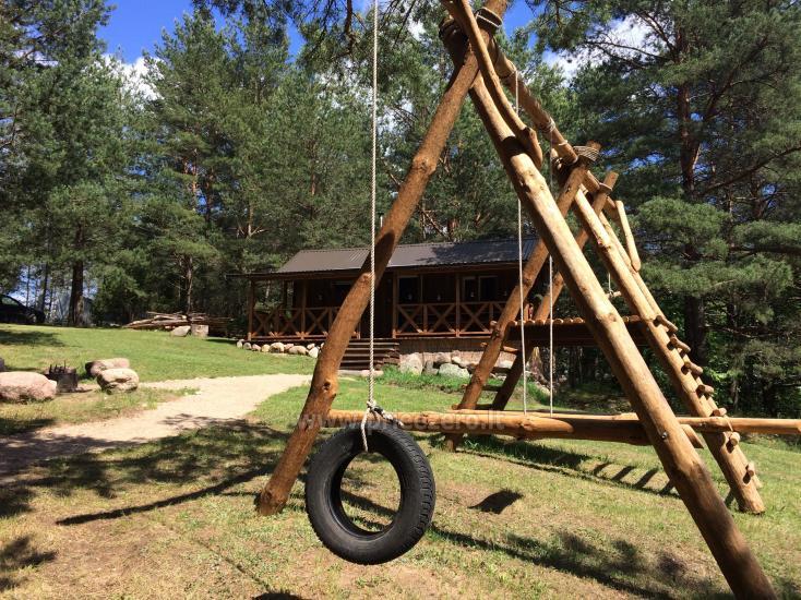 Camping und Sauna zu vermieten in der Nähe des Sees Ilgis - 5
