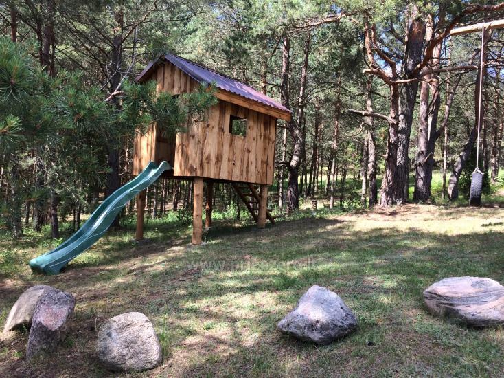 Camping und Sauna zu vermieten in der Nähe des Sees Ilgis - 4