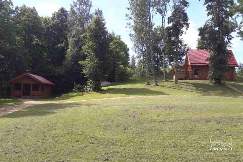 Landgut in der Region Ignalina in der Nähe des Sees Pakalas - 7