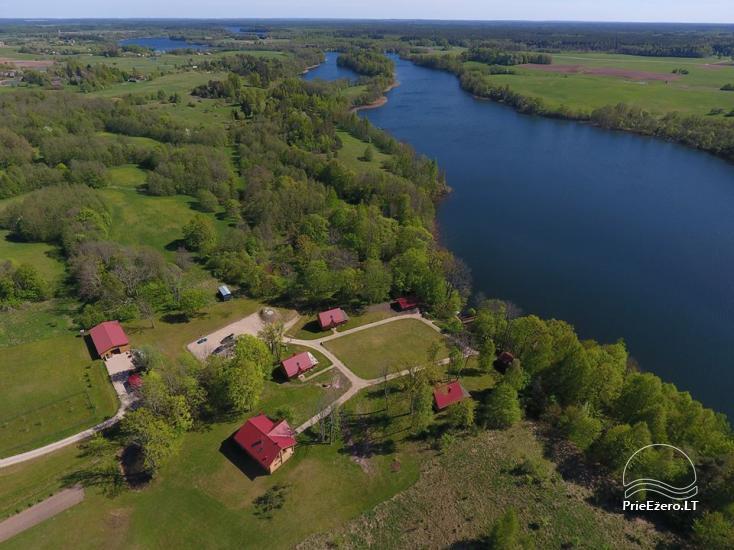 Landgut in der Region Ignalina in der Nähe des Sees Pakalas - 2