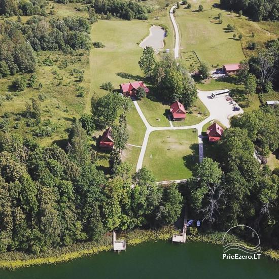 Landgut in der Region Ignalina in der Nähe des Sees Pakalas - 1