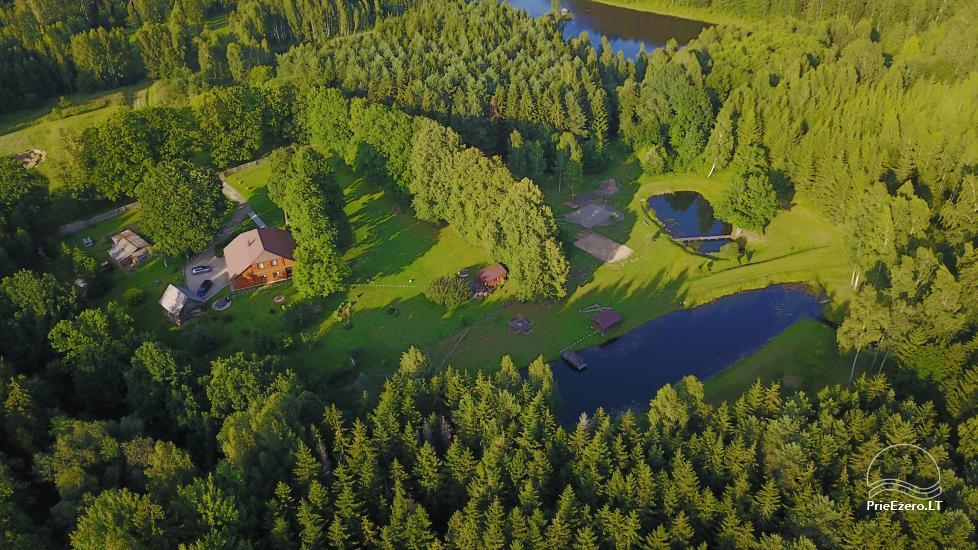 Wieś zagroda w Kielmskim rejonie w pobliżu jeziora Sodyba Dūksta - 1