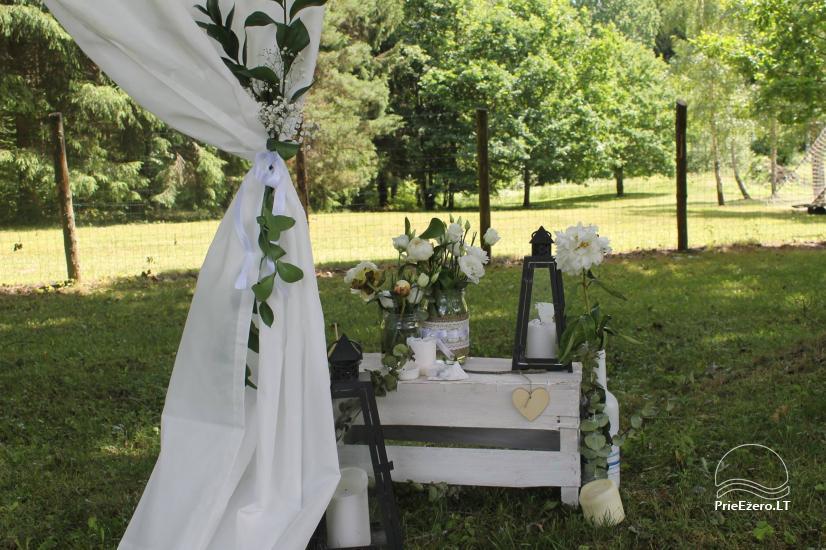 Wieś zagroda w Kielmskim rejonie w pobliżu jeziora Sodyba Dūksta - 5