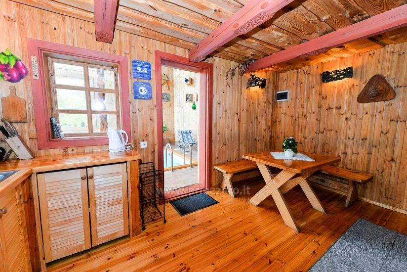Willa Žiogeliai w Druskiennikach: domki letniskowe, sauna - 10