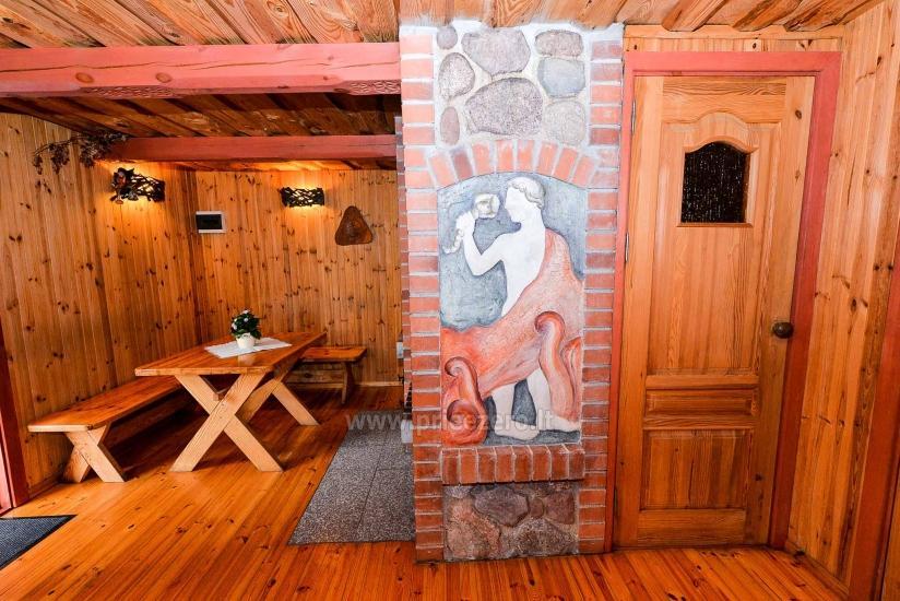 Villa Žiogeliai in Druskininkai: Ferienhäuser, Sauna - 12