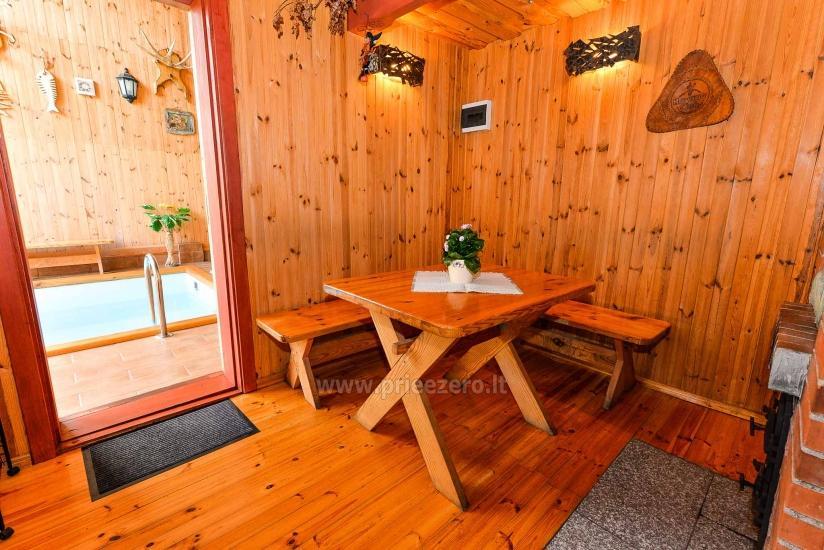 Villa Žiogeliai in Druskininkai: Ferienhäuser, Sauna - 13