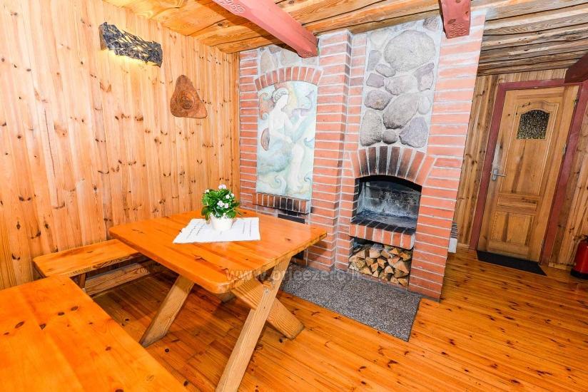 Villa Žiogeliai in Druskininkai: Ferienhäuser, Sauna - 15