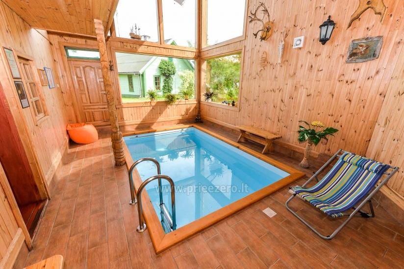 Villa Žiogeliai in Druskininkai: Ferienhäuser, Sauna - 16